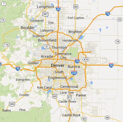 Locksmith Denver Metro Service Area