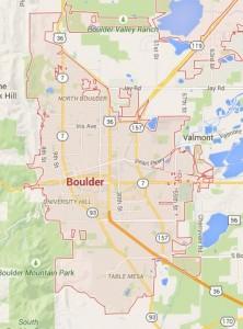 Boulder Locksmith Service Area