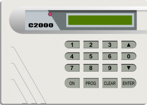 Security Systems require a keypad