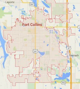 Fort Collins Locksmith Service Area