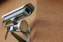 where to position security cameras